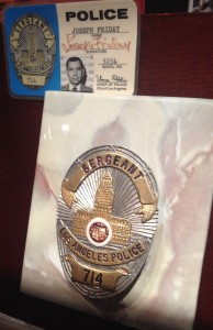 Joe Friday Dragnet Badge